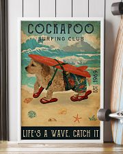 Surfing Club Cockapoo 16x24 Poster lifestyle-poster-4
