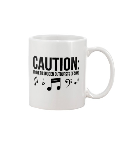 Caution Prone To Sudden Outbursts Musician