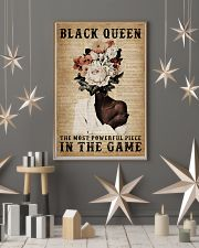 Dictionary Most Powerful Flower Black 11x17 Poster lifestyle-holiday-poster-1