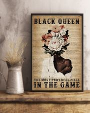 Dictionary Most Powerful Flower Black 11x17 Poster lifestyle-poster-3