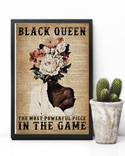 Dictionary Most Powerful Flower Black 11x17 Poster lifestyle-poster-8