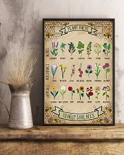 Plant These To Help Save Bees 11x17 Poster lifestyle-poster-3