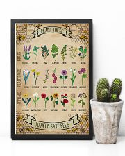 Plant These To Help Save Bees 11x17 Poster lifestyle-poster-8