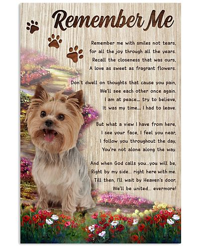 Remember Me Yorkshire Terrier