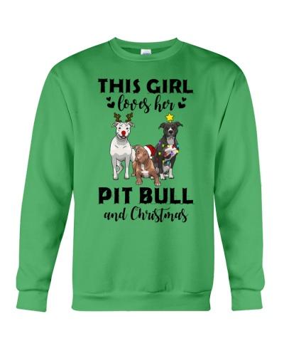 This Girl Loves Her Pit Bull