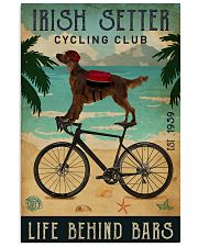 Cycling Club Irish Setter 11x17 Poster front