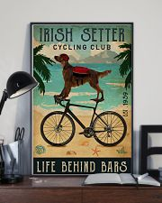 Cycling Club Irish Setter 11x17 Poster lifestyle-poster-2