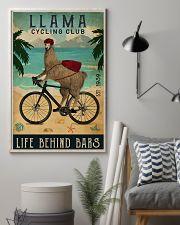 Cycling Club Llama 11x17 Poster lifestyle-poster-1
