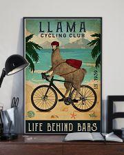 Cycling Club Llama 11x17 Poster lifestyle-poster-2