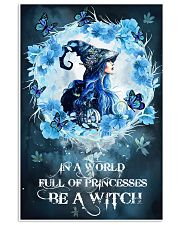 Be A Blue Witch 16x24 Poster front