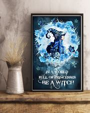 Be A Blue Witch 16x24 Poster lifestyle-poster-3