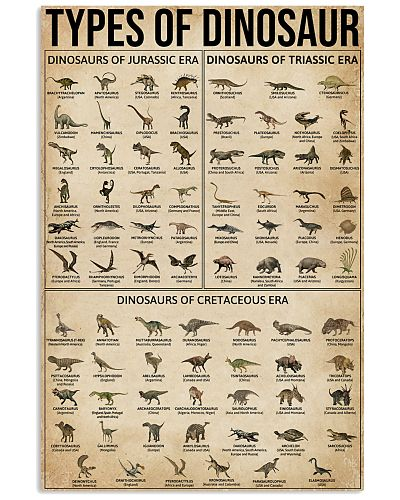 Types Of Dinosaur