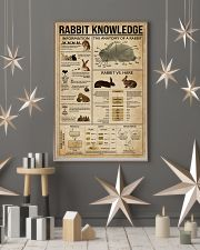 Rabbit Knowledge 11x17 Poster lifestyle-holiday-poster-1