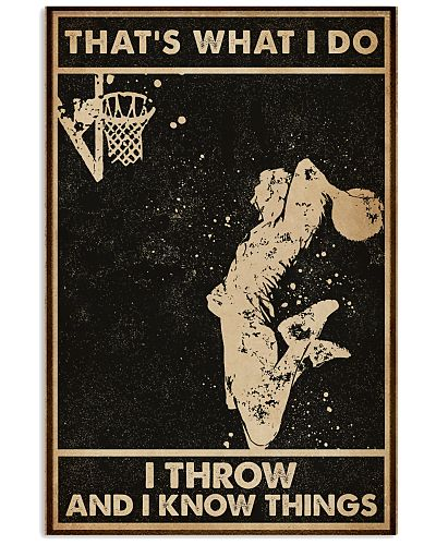 That's What I Do Basketball