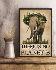 There Is No Planet B Natural Elephant 11x17 Poster lifestyle-poster-3