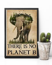 There Is No Planet B Natural Elephant 11x17 Poster lifestyle-poster-8