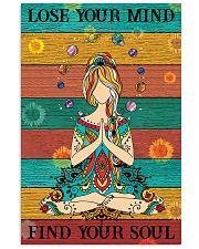 Lose Your Mind Find Your Soul Yoga 16x24 Poster front