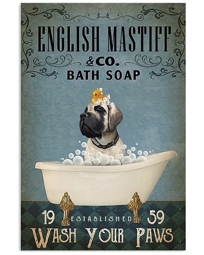 Vintage Bath Soap English Mastiff