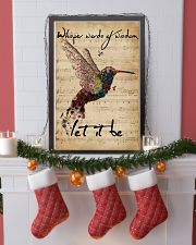 Music Sheet Let It Be Hummingbird 11x17 Poster lifestyle-holiday-poster-4