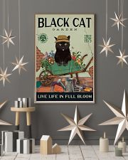 Black Cat Garden  11x17 Poster lifestyle-holiday-poster-1