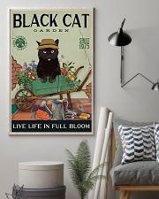 Black Cat Garden  11x17 Poster lifestyle-poster-1