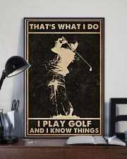 That's What I Do Golf 16x24 Poster lifestyle-poster-2