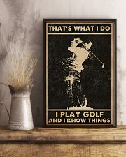 That's What I Do Golf 16x24 Poster lifestyle-poster-3