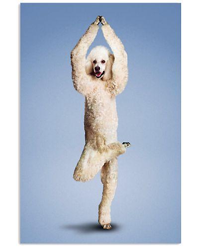 Yoga Pose Poodle