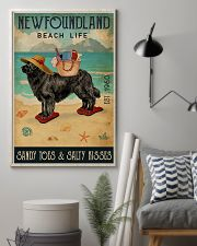 Beach Life Sandy Toes Newfoundland 11x17 Poster lifestyle-poster-1