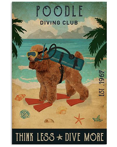 Vintage Diving Club Poodle