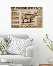Body Conditional Score Of Cattle 24x16 Poster poster-landscape-24x16-lifestyle-01