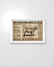 Body Conditional Score Of Cattle 24x16 Poster poster-landscape-24x16-lifestyle-02