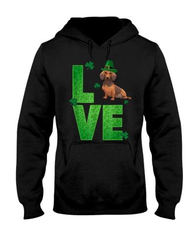 Dachshund  Love St Patrick's Day