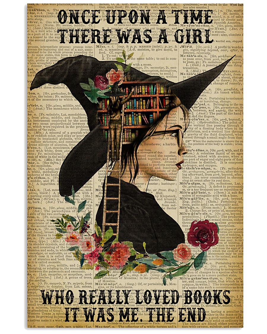 Reading Witch Girl Once Upon A Time 16x24 Poster