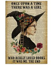 Reading Witch Girl Once Upon A Time 16x24 Poster front
