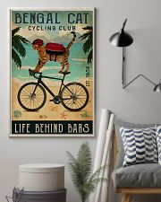 Cycling Club Bengal Cat 11x17 Poster lifestyle-poster-1