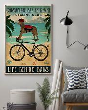 Cycling Club Chesapeake Bay Retriever 11x17 Poster lifestyle-poster-1