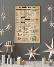 Plumber Knowledge 16x24 Poster lifestyle-holiday-poster-1