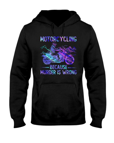 Motorcycling Because Murder Is Wrong