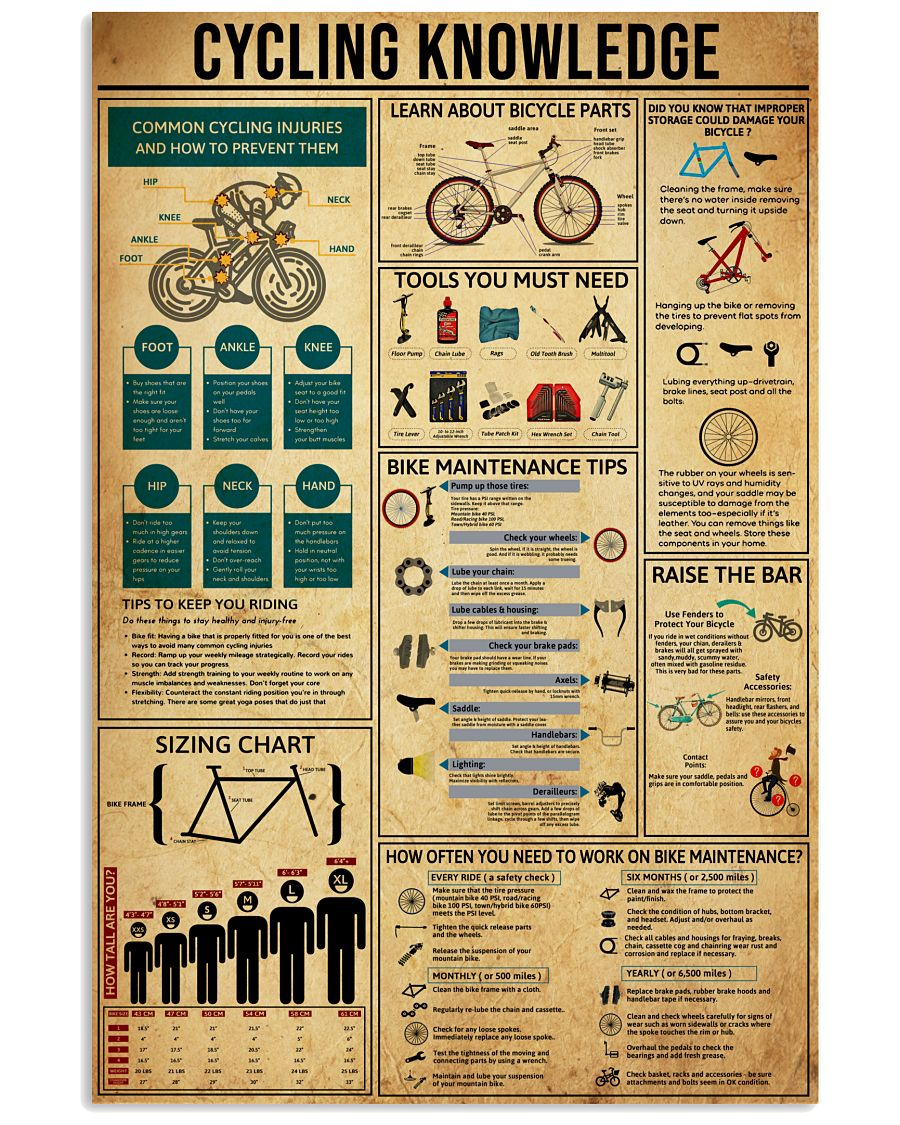 Knowledge Cycling 16x24 Poster