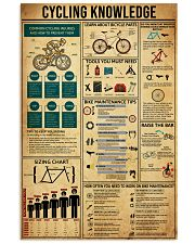 Knowledge Cycling 16x24 Poster front