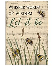 Music Let It Be Grass Bee 11x17 Poster front