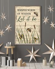 Music Let It Be Grass Bee 11x17 Poster lifestyle-holiday-poster-1