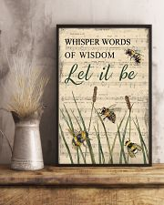 Music Let It Be Grass Bee 11x17 Poster lifestyle-poster-3