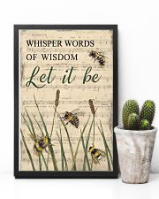 Music Let It Be Grass Bee 11x17 Poster lifestyle-poster-8
