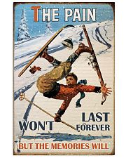 The Pain Won't Last Forever Skiing 16x24 Poster front
