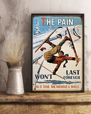 The Pain Won't Last Forever Skiing 16x24 Poster lifestyle-poster-3