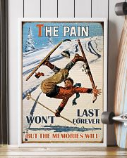 The Pain Won't Last Forever Skiing 16x24 Poster lifestyle-poster-4