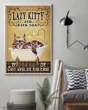Yellow Bath Soap Maine Coon 16x24 Poster lifestyle-poster-1
