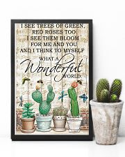 Pallet Music Sheet And I Think Succulent 11x17 Poster lifestyle-poster-8